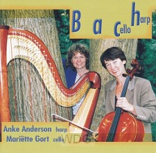 Bach - cello en harp