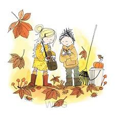 Wenskaart herfst