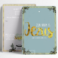 Zijn naam is Jezus