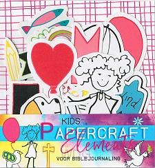 Papercraft elements Kids