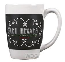 Christmas mug let heaven