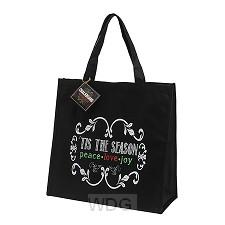 Christmas tote bag tis is the season