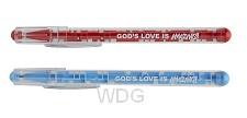 Pen/puzzle God''s love is amazing set4