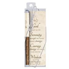 Pen/bookmark Serenity Prayer