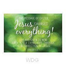 PIO Jesus changes everything set10