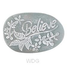 Pocket stone Believe