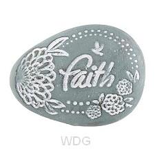 Pocket stone Faith