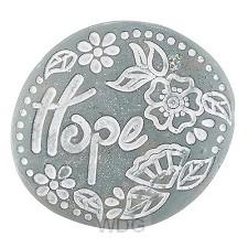 Pocket stone Hope