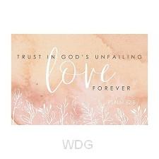 PIO (10) Love - trust in God''s unfailin