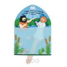 Paper craft kit baptism of Jesus set3