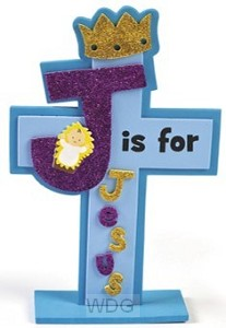 Craft kit j is for Jesus set3