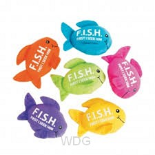 Plush - F.I.S.H. - Assorted colors