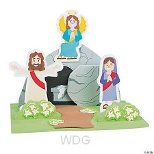 3D craft kit Tomb stand up (3)
