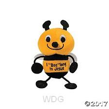 Plush bee 9cm