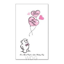 Wedding card love bears set3