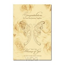 Wedding card congrulations on your set3