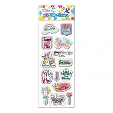 Puffy Stickers Girl''s series (3)