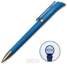 Pen met ichtus logo blauw