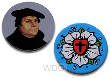Winkelwagenmuntje - Martin Luther