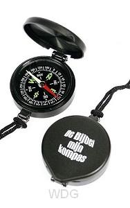 Kompas de bijbel mijn kompas zwart
