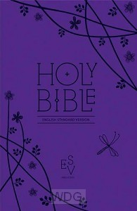 Compact Bible - Purple Leather