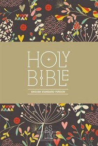 Compact Bible - floral