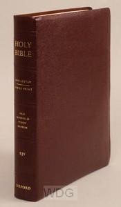 Old Scofield Study Bible - Burg.