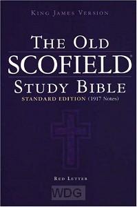 Old Scofield Study Bible