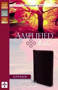 Amplified Bible - Zippered