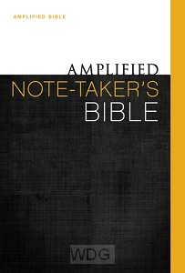 Amplified Note Taker's Bible