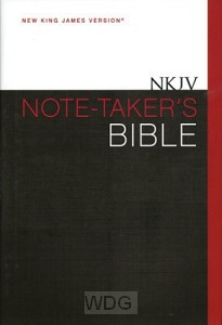 Note-Taker's Bible (Journaling)