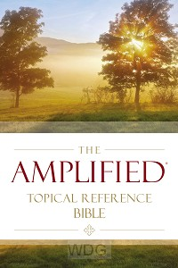 Amplified topical reference bible hardco