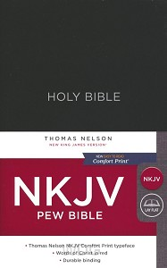Pew Bible - Black - HC