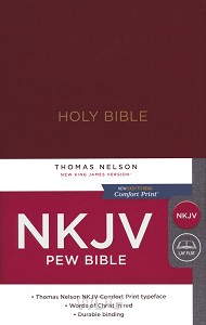 Pew Bible - Burgundy