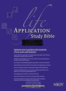 Life Application Study Bible - Black