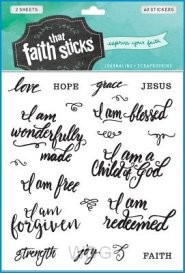Who am I in Christ - Stickers