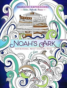 Coloring book noah's ark