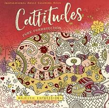 Coloring book cattitudes