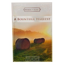 A bountiful harvest - Words of hope