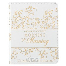 One-Min Devotions Morning Lux-Leather