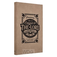 Commit to the Lord - Laser engraved