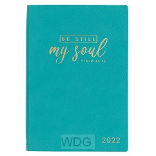 2022 Be Still My Soul Teal Faux Leather