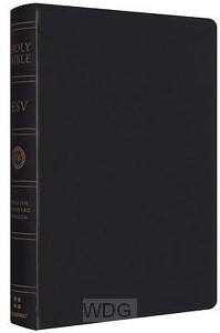 Personal reference bible-esv