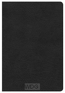 Compact Ultrathin Bible -Black-leatherto