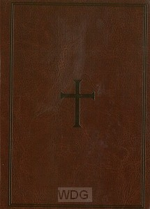 Compact Large Print Ref. Bible - Brown
