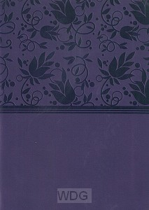 Compact Large Print Ref. Bible - Purple