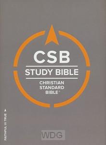 CSB Study Bible - HC