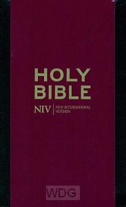 Pocket Bible with Zip - Black