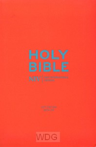 Pocket Bible with Zip - blue