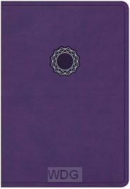 Deluxe Gift Bible - Purple